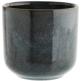 Filiżanka Sonat Ø9x8 cm niebiesko-brązowa