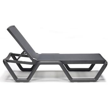 Leżak ogrodowy Vela Sun-Bed 69x194 cm antracytowy