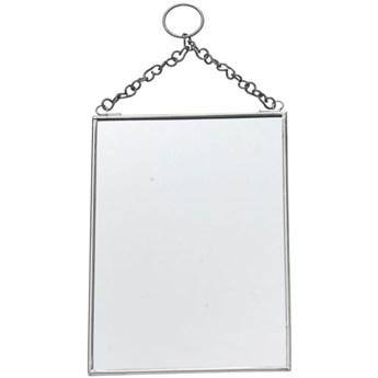 Lustro Momia 13x18 cm srebrne