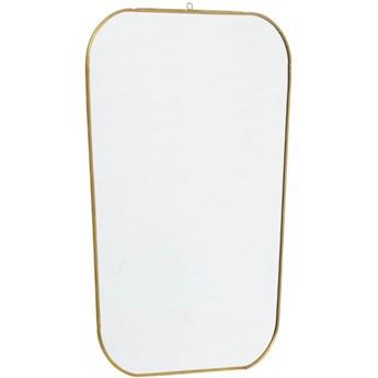 Lustro wiszące Roche 35x51 cm złote