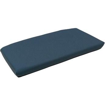 Poduszka na siedzisko ławki Net Bench 106x54 cm Denim niebieska