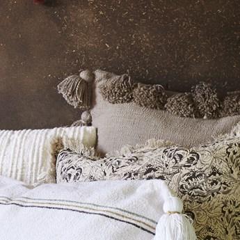 Poszewka dekoracyjna Dosya 60x60 cm szarobeżowa
