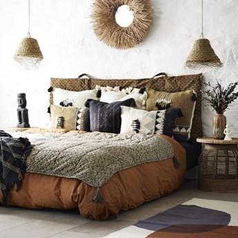 Poszewka na poduszkę Hola 50x50 cm czarna