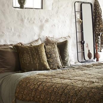 Poszewka na poduszkę Hola 50x50 cm oliwkowa