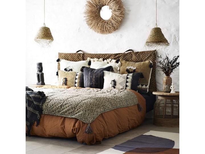 Poszewka na poduszkę Loutan 60x40 cm brązowo-czarna 40x60 cm Poszewka dekoracyjna Kolor Brązowy