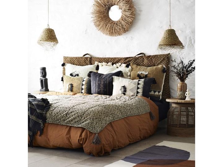Poszewka na poduszkę Loutan 60x60 cm brązowo-czarna