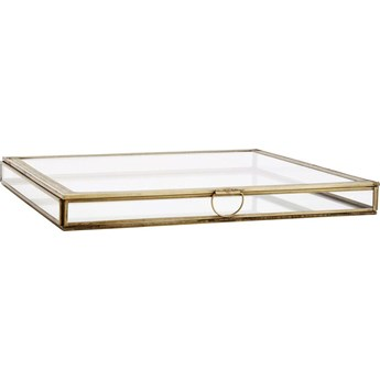 Pudełko szklane 31x31 cm