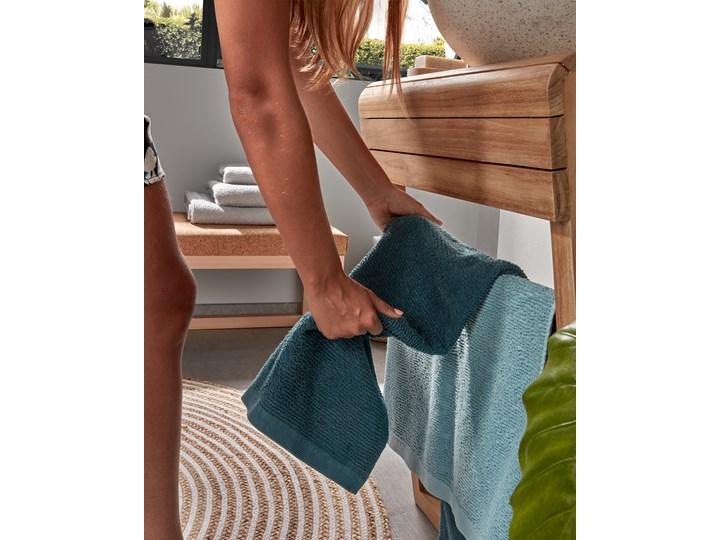 Ręcznik łazienkowy Miekki 100x50 cm jasnoturkusowy 50x100 cm Ręcznik kąpielowy 40x70 cm Bawełna Komplet ręczników Kategoria Ręczniki Kolor Miętowy