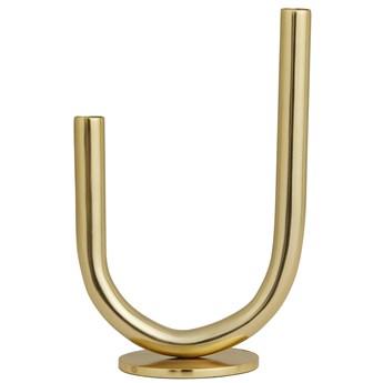 Świecznik Hitra 19x30 cm złoty