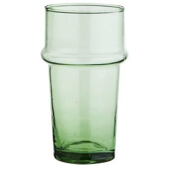 Szklanka Beldi ∅7x12 cm transparentna zielona