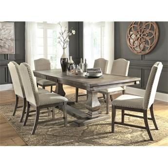 Amerykańska Jadalnia D776 zestaw stół+krzesła