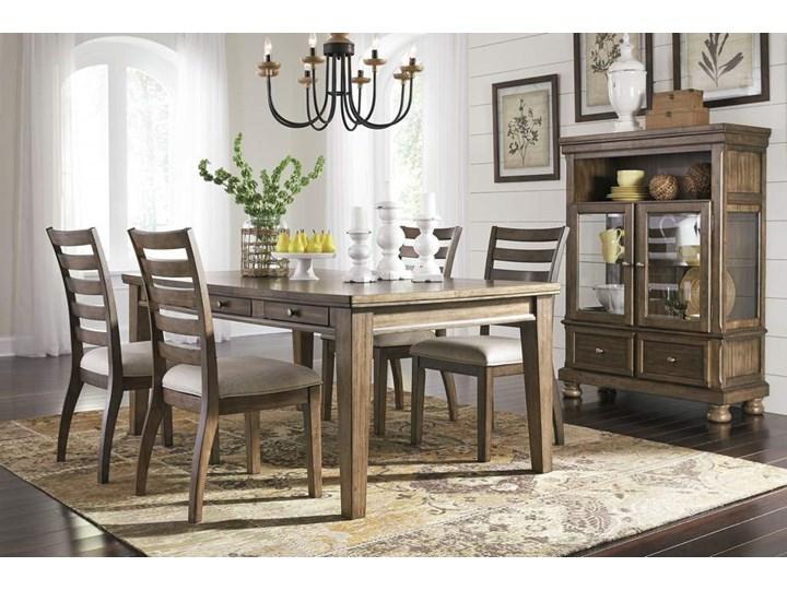 Amerykańska Jadalnia D719 - zestaw Kolor Beżowy Kategoria Stoły z krzesłami