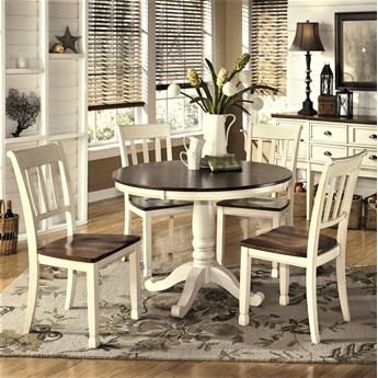 Amerykańska Jadalnia D583- Zestaw stół z krzesłami