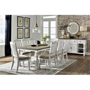 Amerykańska jadalnia D814 - stół z krzesłami