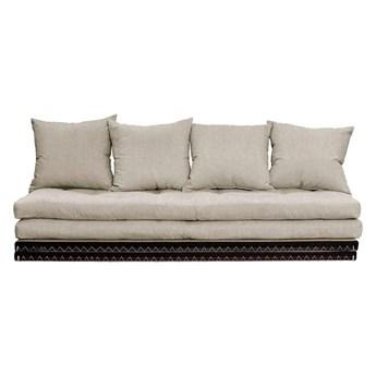 Sofa rozkładana z lnianym obiciem Karup Design Chico Linen