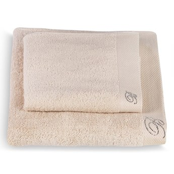 Komplet ręczników Blumarine Benessere Beige
