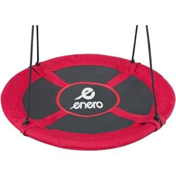 Huśtawka ENERO Bocianie gniazdo 95 cm Czerwony