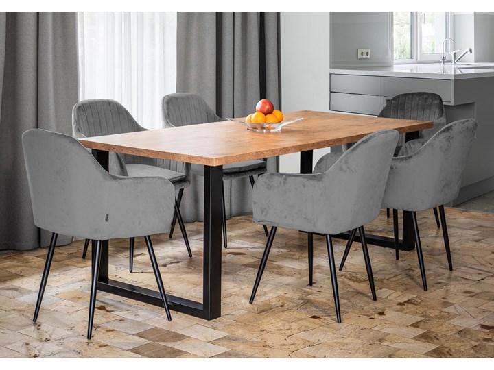 Stół do jadalni rozkładany FIORD 140/240x90 Dąb Szerokość 90 cm Metal Drewno Tworzywo sztuczne Wysokość 90 cm Długość 240 cm Wysokość 75 cm Pomieszczenie Stoły do kuchni