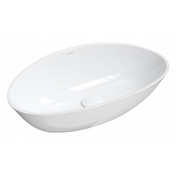 Umywalka Barcelona, 59x36,1 cm, nablatowa, biała, BARCELONABP