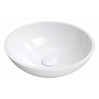 Umywalka Rodos, nablatowa, biały, połysk, RODOSBP