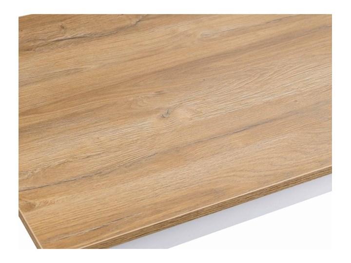Zestaw do Kuchni Jadalni Stół 110x60 Wysokość 48 cm Kształt blatu Prostokątny Szerokość 60 cm Wysokość 76 cm Drewno Długość 110 cm  Długość 40 cm  Tworzywo sztuczne Płyta MDF Rozkładanie
