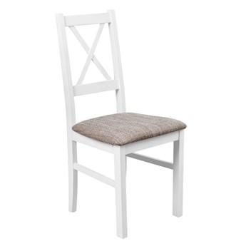 Krzesło Drewniane do Kuchni Jadalni Jasny Brąz