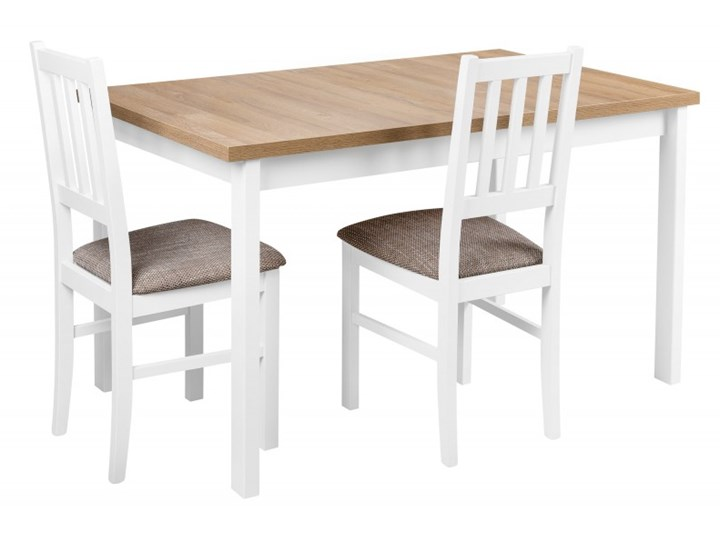 Zestaw do Kuchni Jadalni Stół 120x70 Drewno Wysokość 76 cm Tworzywo sztuczne Długość 40 cm  Szerokość 70 cm Długość 120 cm  Płyta MDF Wysokość 48 cm Kategoria Stoły kuchenne