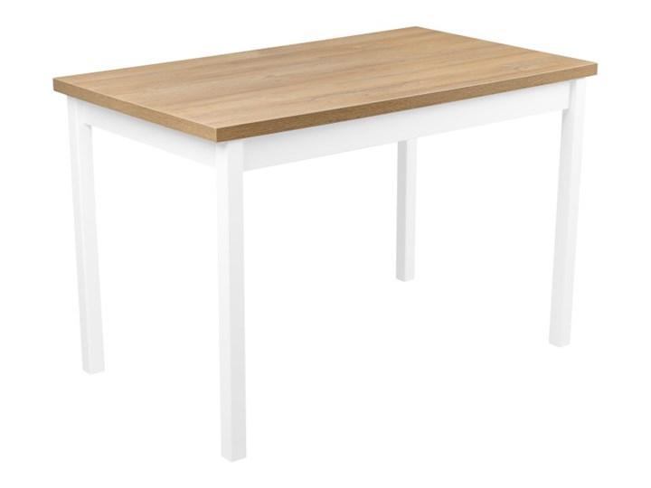 Zestaw do Kuchni Jadalni Stół 120x70 Tworzywo sztuczne Drewno Długość 120 cm  Płyta MDF Wysokość 48 cm Długość 40 cm  Szerokość 70 cm Wysokość 76 cm Rozkładanie Kolor Beżowy