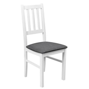 Krzesło Drewniane do Kuchni Jadalni Grafit