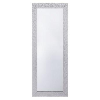 Lustro ścienne wiszące srebrne 50 x 130 cm łazienka sypialnia toaletka