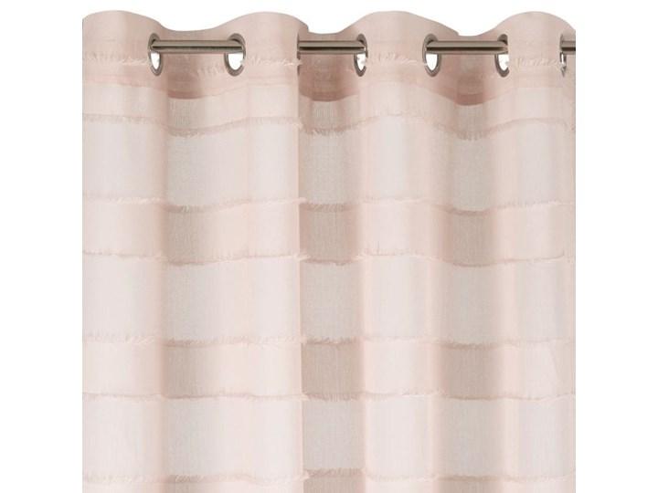 Zasłona Polly 140x270cm - Róż - Przelotki