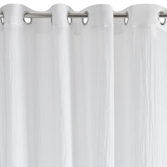 Zasłona Zuhal 140x250cm - Biały - Przelotki