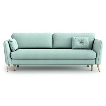Sofa Clara z funkcją spania, Aquamarine Mint