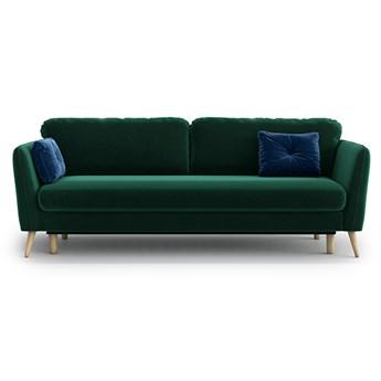 Sofa Clara z funkcją spania, Bottle Green
