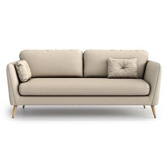 Sofa Clara 3-osobowa, Nougat
