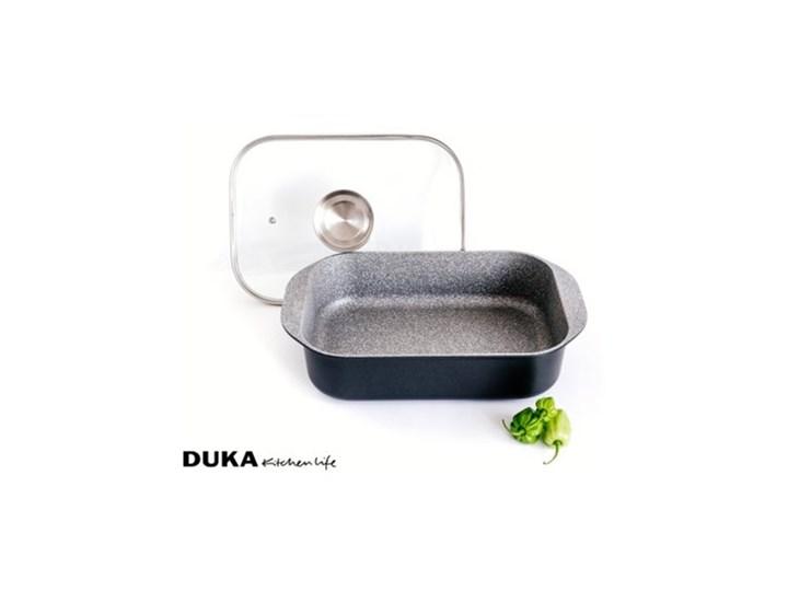Brytfanna z pokrywką DUKA GOTA COOK 6200 ml aluminium Naczynie do zapiekania Naczynie z pokrywką Kategoria Naczynia do zapiekania Kolor Czarny