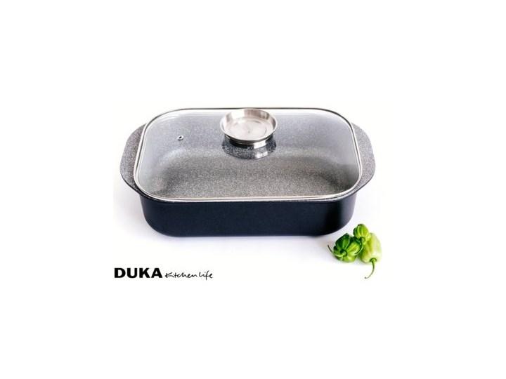 Brytfanna z pokrywką DUKA GOTA COOK 6200 ml aluminium Naczynie z pokrywką Kategoria Naczynia do zapiekania Naczynie do zapiekania Kolor Czarny
