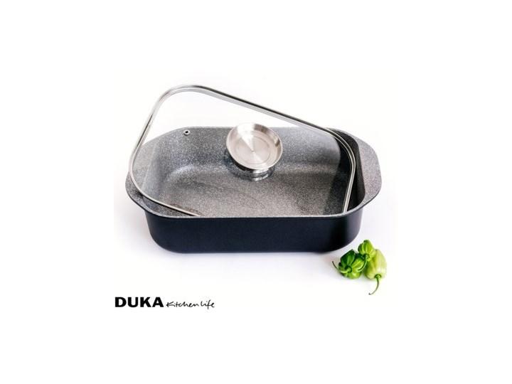 Brytfanna z pokrywką DUKA GOTA COOK 6200 ml aluminium Kategoria Naczynia do zapiekania Naczynie do zapiekania Naczynie z pokrywką Kolor Czarny