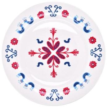 Talerz płytki skandynawski DUKA SCANDIK 27 cm kremowy ceramika