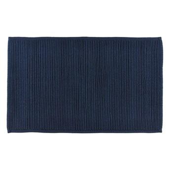 Niebieski dywanik łazienkowy z bawełny Södahl, 50x80 cm
