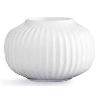Biały porcelanowy świecznik na tealighty Kähler Design Hammershoi, ⌀ 10 cm