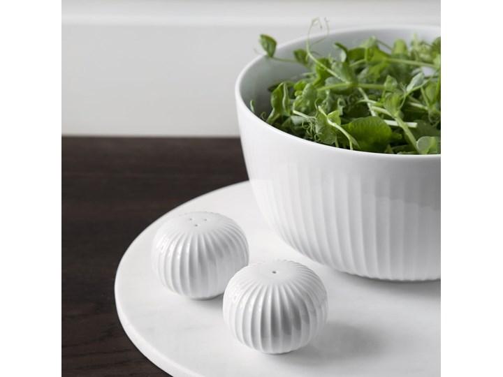 Zestaw białej solniczki i pieprzniczki z porcelany Kähler Design Hammershoi Ceramika Solniczka i pieprzniczka Szkło Zestaw do przypraw Kolor Biały Kategoria Przyprawniki