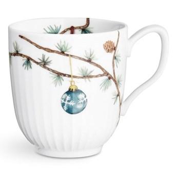 Porcelanowy świąteczny kubek Kähler Design Hammershoi Christmas Mug, 330 ml