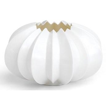 Biały porcelanowy świecznik Kähler Design Stella, ⌀ 13,5 cm