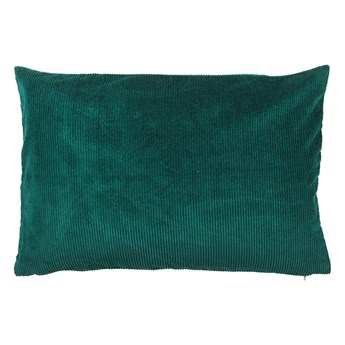 Zielona bawełniana poduszka Södahl Elsa, 40x60 cm