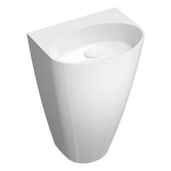 Umywalka Siena, 55x43x85 cm, wolnostojąca, biała, SIENAUWBOBP