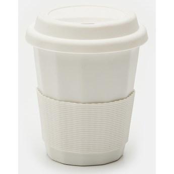 Sinsay - Kubek przenośny 290 ml - Biały