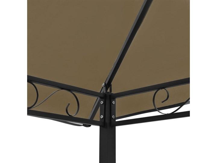 vidaXL Zadaszenie ogrodowe ze stołem i ławkami, 2,5x1,5x2,4 m, taupe Wysokość 240 cm Kategoria Altany ogrodowe