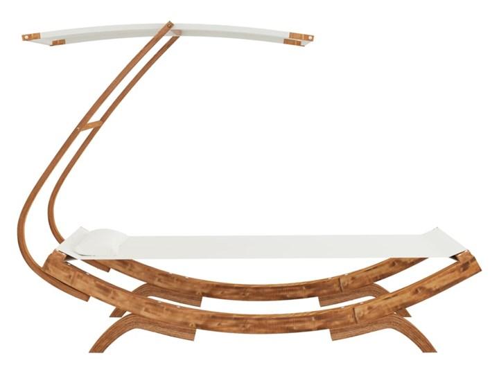 vidaXL Hamak z zadaszeniem, 100x198x150 cm, lite drewno świerkowe Kategoria Hamaki