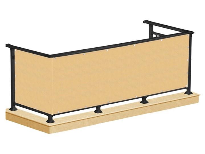 Osłona na balkon 0,8x5m mata balkonowa beżowa Osłona balkonowa Kolor Beżowy Kategoria Maty osłonowe